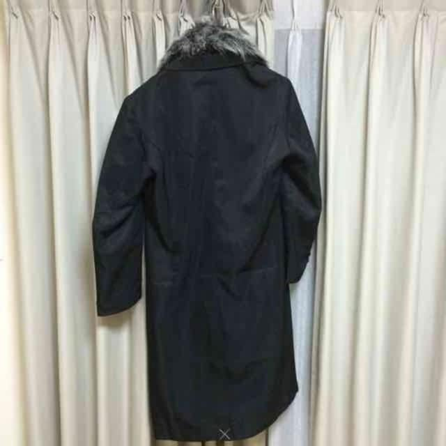 新品 ロングコート アウター ジャケット ブラック Mサイズ < 男性ファッションの