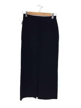 SLY(スライ)FRONT SLIT RIB ミディアムスカートスカート