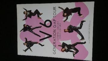 V6 TOUR コンサートツアーパンフレット COMING CENTURY 20TH