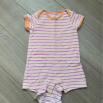UNIQLO baby半袖ロンパ70タオル地