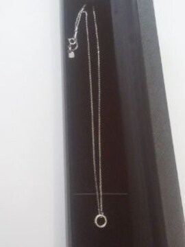 SV925 ダイヤモンドペンダント《フルエタニティ》