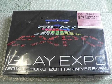 新品/GLAY EXPO 2014 TOHOKU 20th Anniversary[Special Box]3DVD