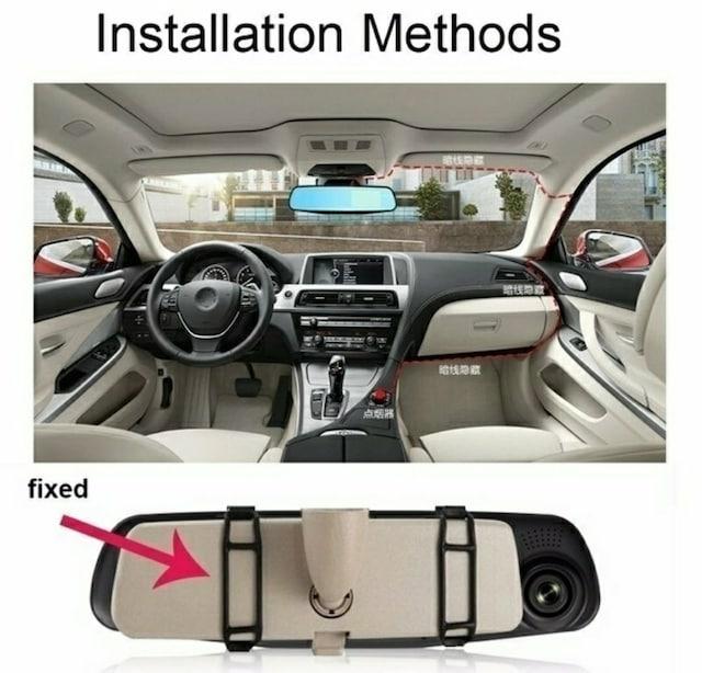 【高性能】ミラー型ドライブレコーダー < 自動車/バイク