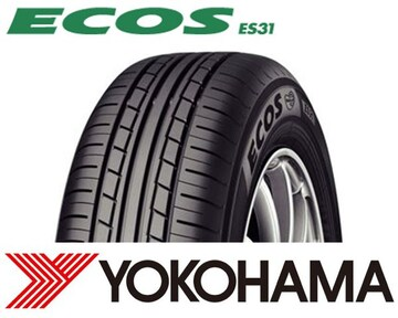 ★155/65R14 緊急入荷★ヨコハマ ECOS ES31 新品タイヤ 4本セット