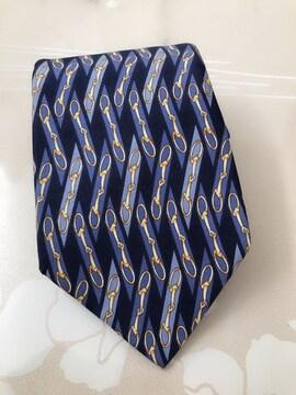 J026 グッチ GUCCI シルク100% ネクタイ ビジネス 紳士 メンズ