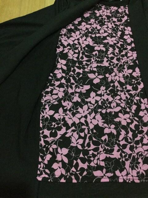 新品タグ付き 七分袖重ね着風カットソー < 女性ファッションの
