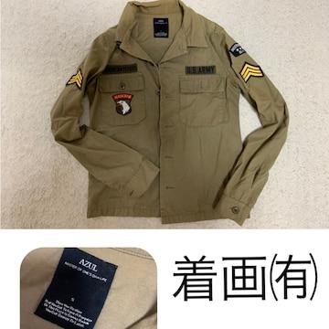 AZULカーキシャツ