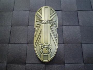 BROMPTON ブロンプトン ヘッドバッチ ブロンズ
