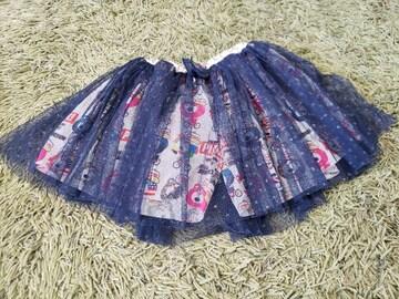 ★JAM★パンツ×チュールスカート★サイズ130★