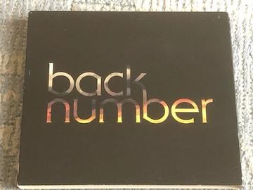 激安!激レア!☆back number/blues☆初回限定盤/CD+DVD☆美品!☆