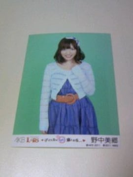 PSP AKB1/48アイドルとグアムで恋したら野中美郷特典生写真/AKB48 フォト