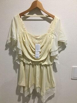 新品タグ付 GOLDS infinity ゴールズインフィニティ 半袖 トップス tシャツ シフォン