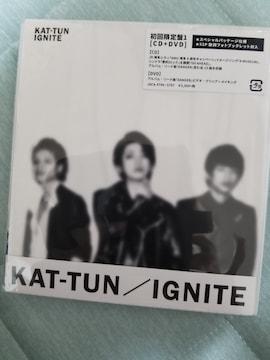 送料込 新品未開封 KAT-TUN「IGNITE」初回限定盤1