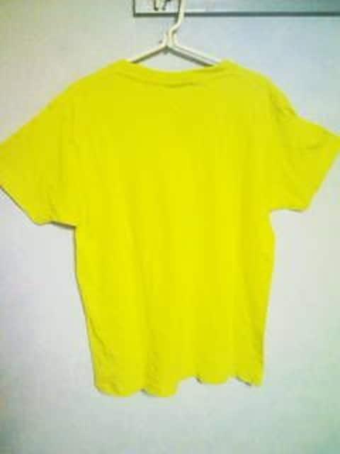 Tー76★新品★半袖サーフ系Tシャツ イエロー M < 男性ファッションの
