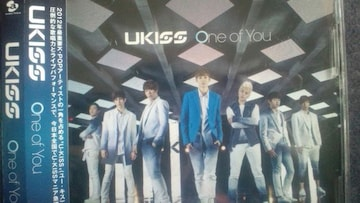 激安!超レア!☆U-Kiss/One of You☆初回限定盤/CD+DVD/帯付!超美品