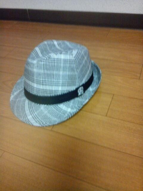 新品 ドクロ帽子ギャル男にSIZE52cm 送料込み  < キッズ/ベビーの