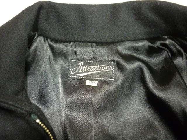 attractionsアトラクションズウールスポーツジャケット30's40's < 男性ファッションの