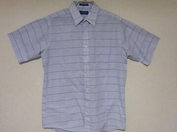 即決USA古着●鮮やかチェックデザイン半袖シャツ!アメカジビンテージ