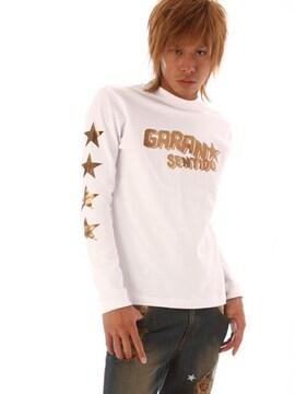 GARANSENTIDO G.S.D×INSP コラボロンT/ホワイトS