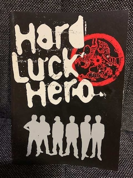 【V6】Hard Luck Hero/DVD付属★ミニパンプレット(風)