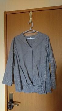 LL / ギンガムチェックシャツ