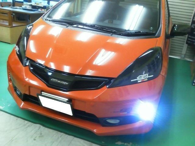 GE8(RS)  GP4(RS)  FIT 専用LED デイライト < 自動車/バイク