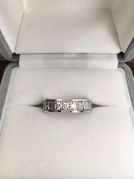 ティファニー 3p ダイヤモンド アトラス リング K18WG 6.6g