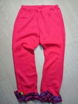 ●BACK  ALLEY● レース ニット pinkレギパン 130 未使用