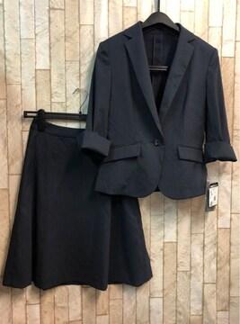 新品☆7号♪7分袖スーツ薄くて軽くて伸びる!涼しい☆s769