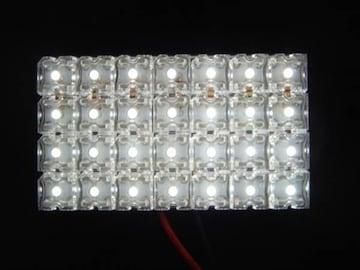 激照!FLUX28連LEDルームランプ ホワイト