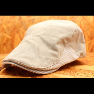 送料無料 箱入りハンチング 帽子・キャップ ベージュ PTH2-2