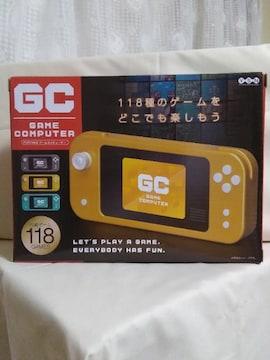 Portable ゲームコンピューター グレー