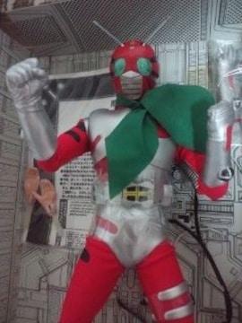 仮面ライダーZX!ゼクロス!メディコムトイ!ビックサイズソフビ