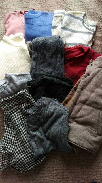 M セーター系冬物 11点セット まとめ売り  < 女性ファッションの