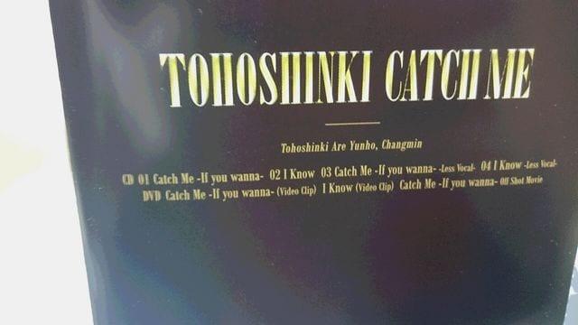 *☆東方神起★Catch MeーIf you wannaー(CD+DVD)♪ < タレントグッズの