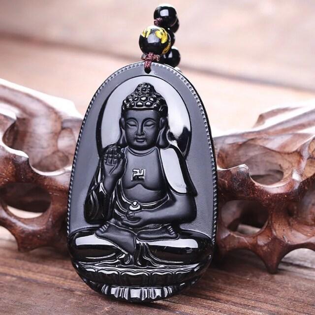 【特A品】阿弥陀如来 彫刻 数珠 ネックレス 新品