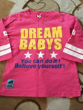 美品 DREAMBABYS 7分袖Tシャツ 130
