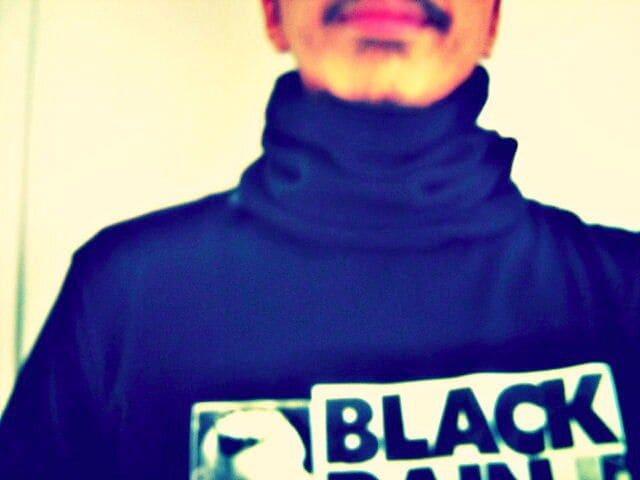 新品オシャレ!フリースネックウォーマー黒 < 男性ファッションの