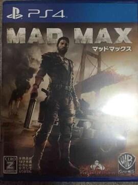マッドマックス PS4 即決 美品