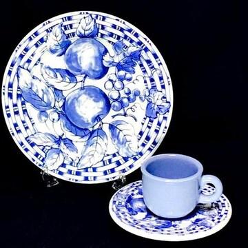 ティファニー/Tiffanyカップ&ソーサーケーキ皿トリオ