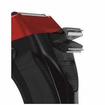 往復式シェーバー ソリッドシリーズ 3枚刃 レッド