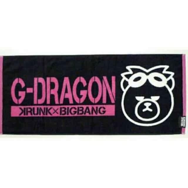 BIGBANG G-DRAGON ジヨン フェイスタオル  < タレントグッズの