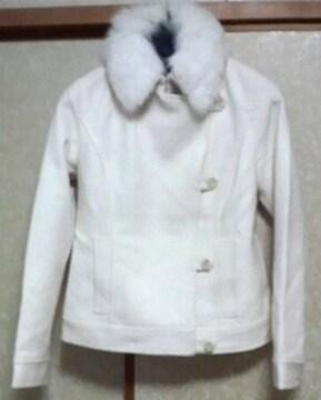 プライベートレーベル★フォックスファー付きジャケット