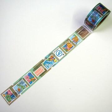 東京カートグラフィック×BON VOYAGEマスキングテープ切手地図