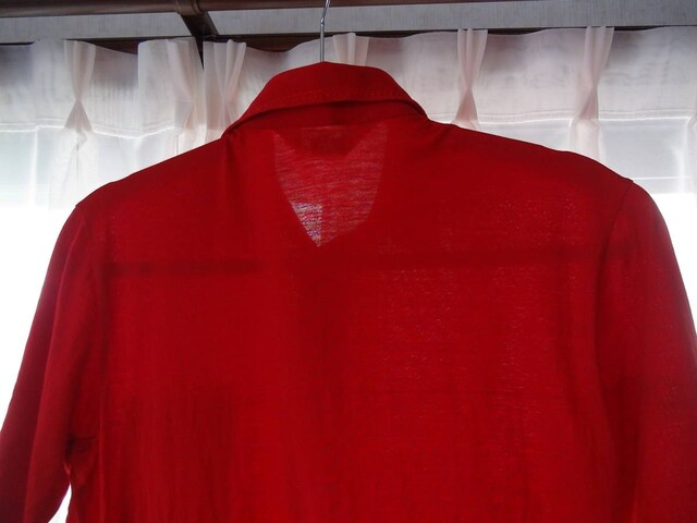 JACK NICKLAUSのポロシャツ(M)赤!。 < 男性ファッションの