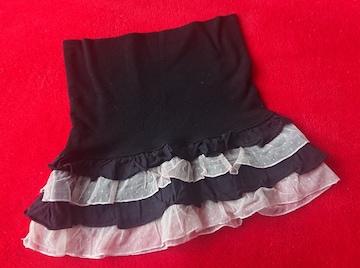 ME JANE ミジェーン 黒のスカート