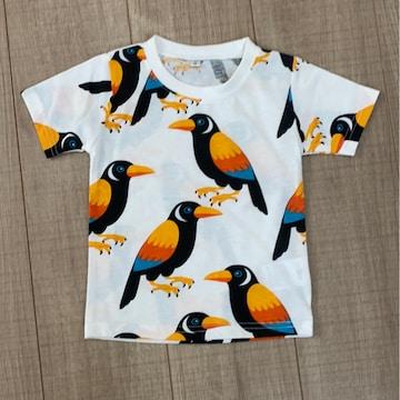 新品未使用ベビチビ男女OK半袖Tシャツ80