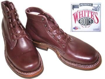 ホワイツ ブーツ ビブラムソール2332Wセミドレス黒チェリ8.5