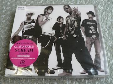 新品/GLAY×EXILE『SCREAM』【CD+DVD】初回:30万枚限定盤