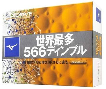 ネクスドライブ ゴルフボール 12P オレンジ(40)